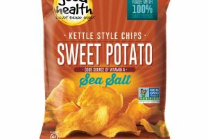 SEA SALT SWEET POTATO KETTLE STYLE CHIPS