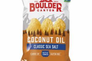 CLASSIC SEA SALT KETTLE COOKED COCONUT OIL POTATO CHIPS