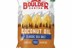 CLASSIC SEA SALT COCONUT OIL KETTLE COOKED POTATO CHIPS