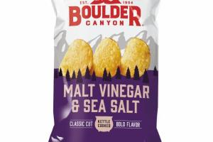 MALT VINEGAR & SEA SALT KETTLE COOKED POTATO CHIPS