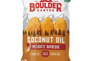 KETTLE COOKED MESQUITE BARBEQUE COCONUT OIL POTATO CHIPS