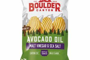 MALT VINEGAR & SEA SALT AVOCADO OIL CANYON CUT CHIPS