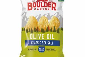 KETTLE COOKED CLASSIC SEA SALT OLIVE OIL POTATO CHIPS