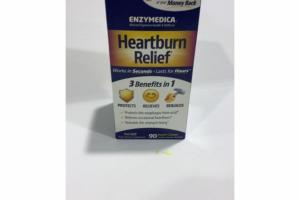 VANILLA-ORANGE FLAVORED HEARTBURN RELIEF CHEWS VEGAN DIETARY SUPPLEMENT