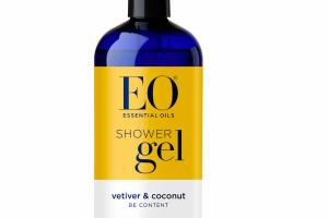 SHOWER GEL, VETIVER & COCONUT
