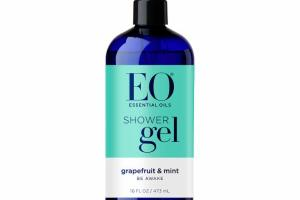 SHOWER GEL, GRAPEFRUIT & MINT