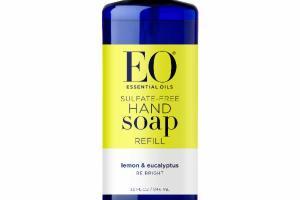 HAND SOAP REFILL, LEMON & EUCALYPTUS