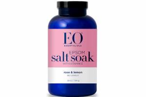 EPSOM SALT SOAK WITH VITAMIN E, ROSE & LEMON