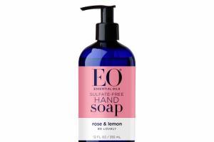 SULFATE-FREE HAND SOAP, ROSE & LEMON