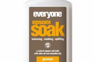EPSOM SOAK, GERANIUM + SWEET ORANGE