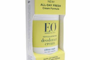 GENTLE & EFFECTIVE DEODORANT CREAM, CITRUS SAGE