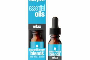 ESSENTIAL OILS RELAX AROMATHERAPY BLENDS, YLANG YLANG + LAVENDER