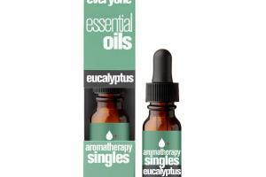AROMATHERAPY SINGLES ESSENTIAL OILS, EUCALYPTUS