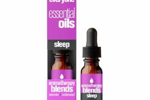 SLEEP AROMATHERAPY BLENDS ESSENTIAL OILS, LAVENDER + CEDARWOOD