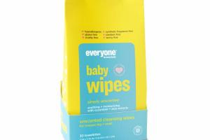 UNSCENTED CLEANSING WIPES
