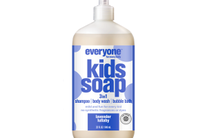 3IN1 SHAMPOO, BODY WASH, BUBBLE BATH KIDS SOAP, LAVENDER LULLABY