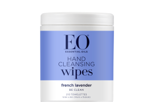 HAND CLEANSING WIPES TOWELETTES, FRENCH LAVENDER