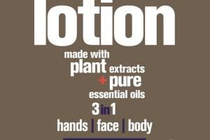 HANDS, FACE, BODY LOTION, LAVENDER + ALOE
