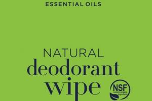 NATURAL DEODORANT WIPE, TEA TREE