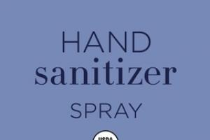 HAND SANITIZER SPRAY, FRENCH LAVENDER