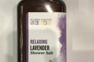 RELAXING LAVENDER SHOWER SALT