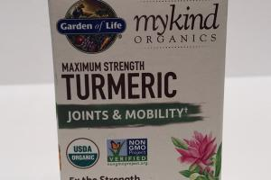 Maximum Strength Turmeric Joints & Mobility Herbal Supplement