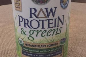 Raw Protein & Greens Organic Plant Formula - Vanilla