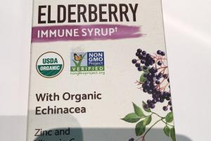 Immune Syrup With Organic Echinacea Liquid Herbal Supplement