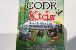 Chewable Whole Food Multivitamin For Kids, Whole Food Dietary Supplement