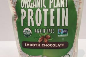 Organic Plant Protein - Smooth Chocolate