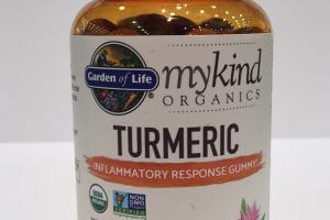 Mykind Organics Turmeric Gummy Real Food Herbal Supplement