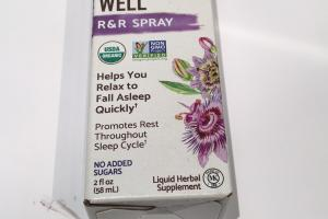 Sleep Well R & R Spray Liquid Herbal Supplement