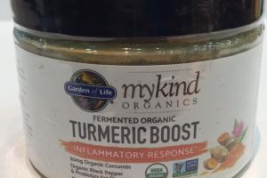 Fermented Organic Turmeric Boost Herbal Supplement