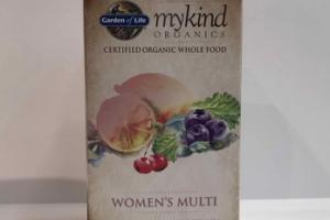 MYKIND ORGANICS WOMEN'S MULTI WHOLE FOOD MULTIVITAMIN DIETARY SUPPLEMENT VEGAN TABLETS