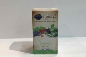 MYKIND ORGANICS WHOLE FOOD DIETARY SUPPLEMENT VEGAN TABLETS