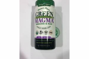 ORGANIC & RAW BARLEY GRASS JUICE DRINK DIETARY SUPPLEMENT