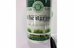 ORGANIC AND RAW WHEATGRASS POWDER