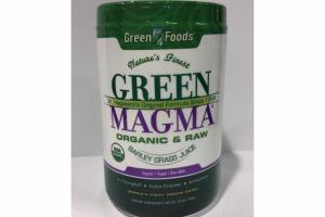 ORGANIC & RAW BARLEY GRASS JUICE DIETARY SUPPLEMENT