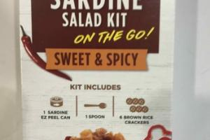 SWEET & SPICY SARDINE SALAD KIT