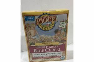 ORGANIC WHOLE GRAIN RICE CEREAL