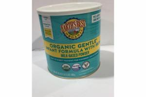 ORGANIC GENTLE INFANT FORMULA WITH IRON MILK-BASED POWDER