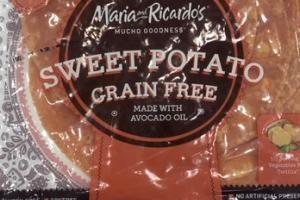 GRAIN FREE SWEET POTATO
