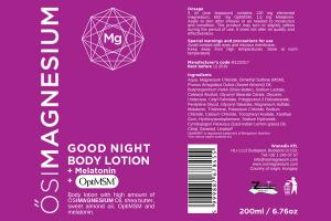 GOOD NIGHT BODY LOTION + MELATONIN + OPTIMSM