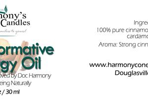 TRANSFORMATIVE ENERGY OIL