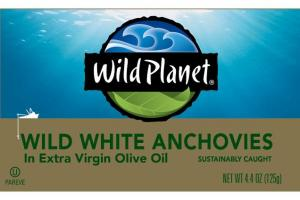 WILD WHITE ANCHOVIES IN EXTRA VIRGIN OLIVE OIL