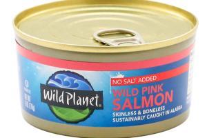 NO SALT ADDED WILD PINK SALMON