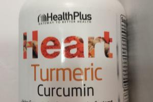 Heart Turmeric Curcumin Dietary Supplement