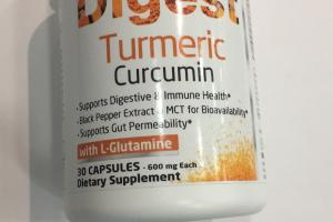 Digest Turmeric Curumin With L-glutamine Dietary Suppleent
