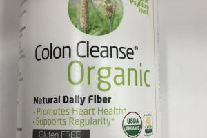 Colon Cleanse Organic Psyllium Husk Dietary Supplement