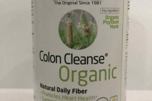 COLON CLEANSE ORGANIC NATURAL FIBER PSYLLIUM HUSK DIETARY SUPPLEMENT